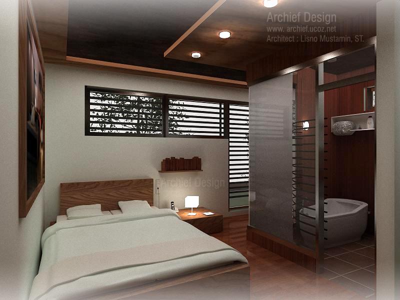 desain kamar tidur sempit sederhana rumah unik minimalis